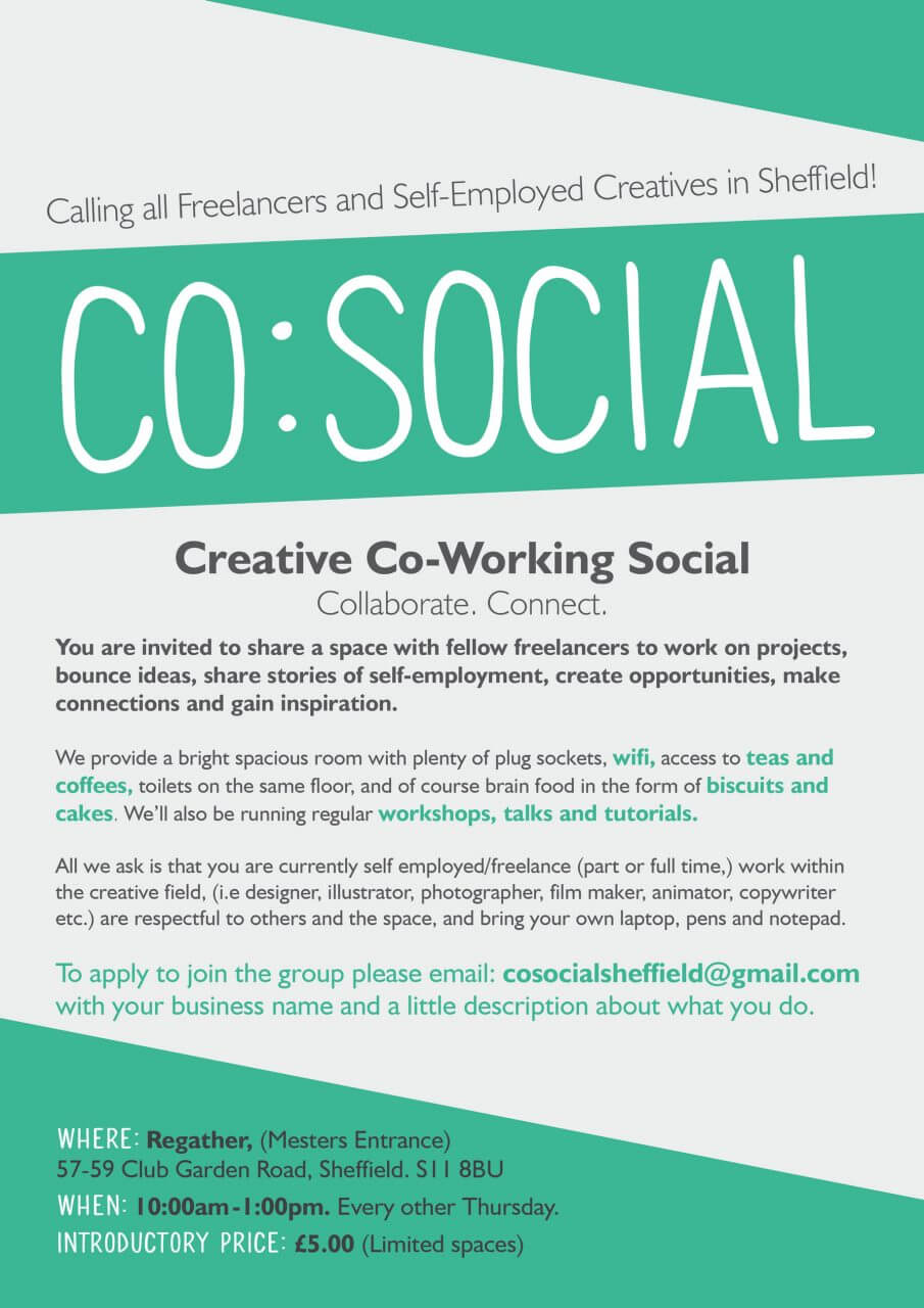 Co-Social Flyer