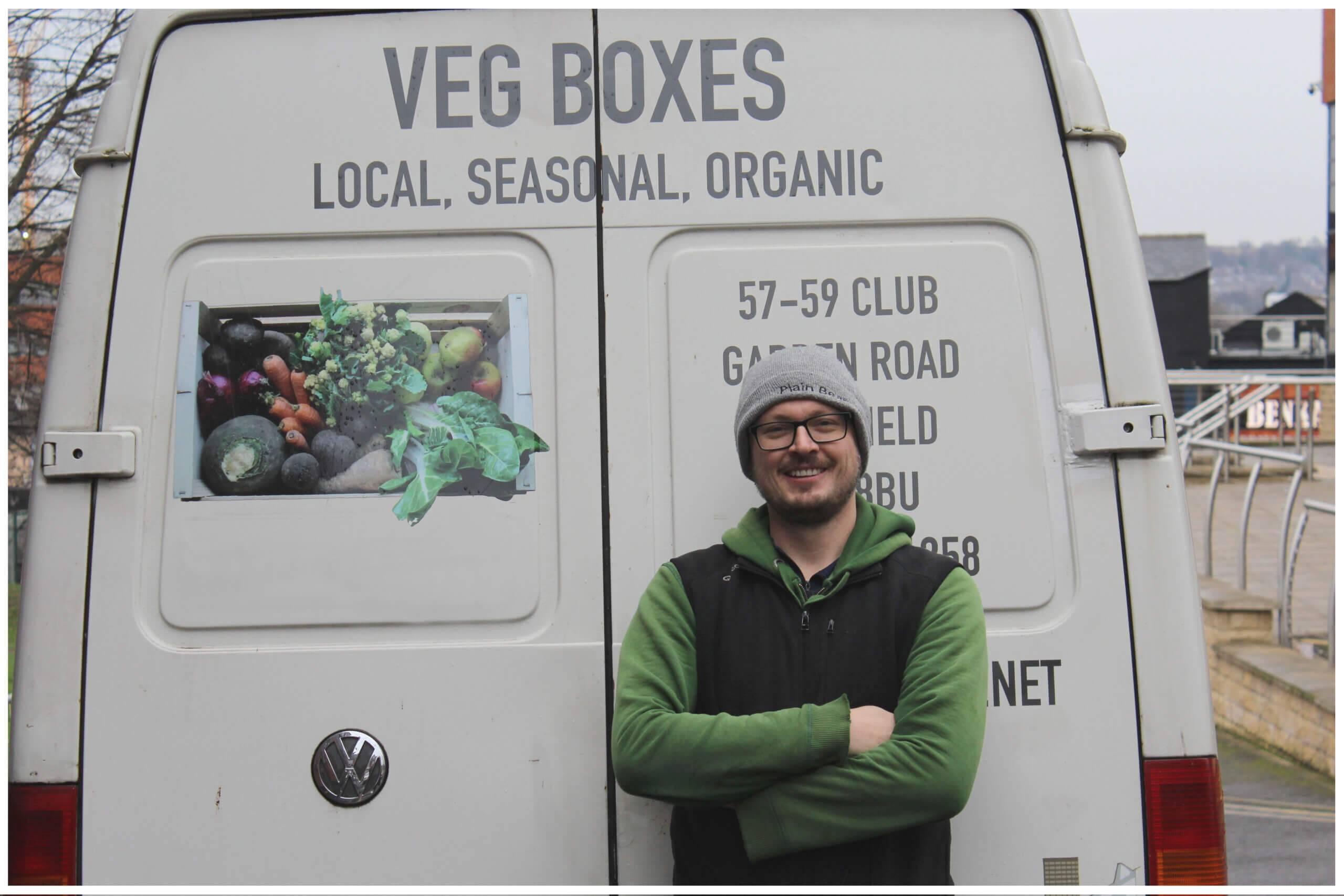 Regather Food Delivery Sheffield, Doug Kemp